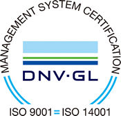 management system certification DNV・GL ISO9001 ISO14001